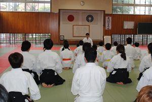 行事2011-合同稽古・姿勢・立ち居振舞い
